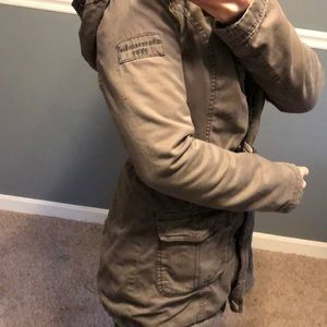 Abercrombie Military Style Jacket